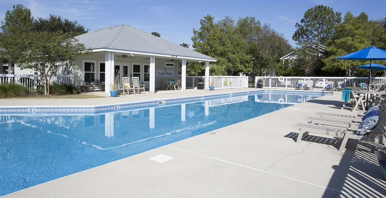 Salt Water Pool and Clubhouse
