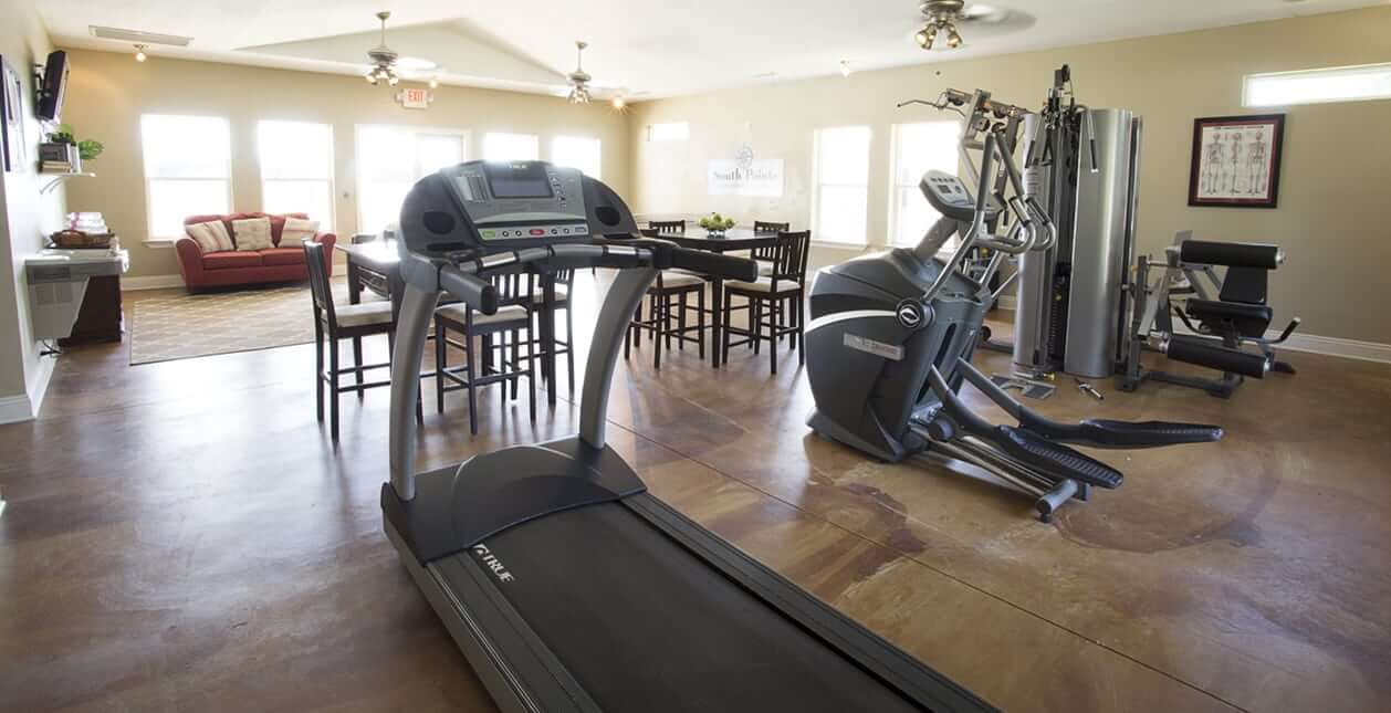 South Pointe Apartment Homes - Fitness Center