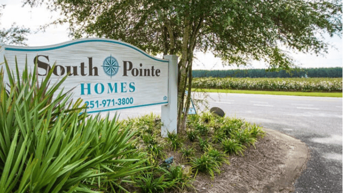 South Pointe Apartments and Rental Homes - Sign